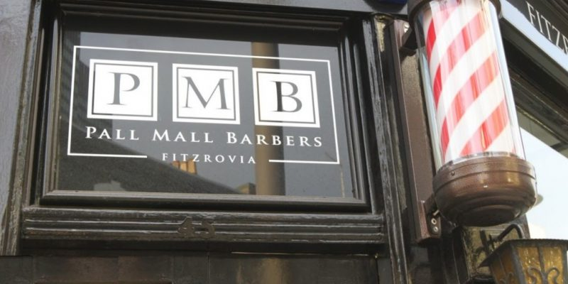 Pall Mall Barbers Fitzrovia, Warren Street, Mens Haircut, London Barber Shop